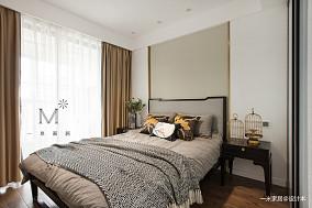 温馨116平中式三居装修图