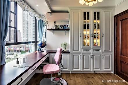 优雅77平美式三居客厅实拍图客厅