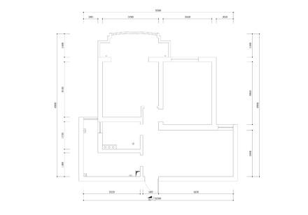 轻奢78平北欧二居设计效果图二居北欧极简家装装修案例效果图