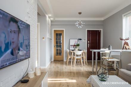 201987平北欧二居客厅装修图