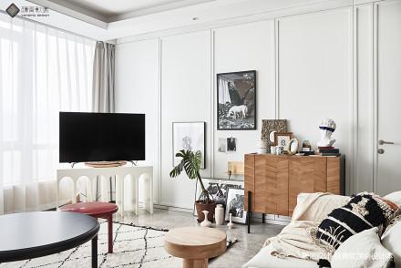 优美130平混搭四居客厅装修图客厅