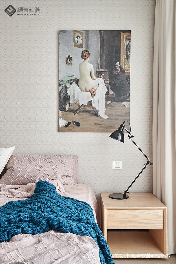 温馨154平混搭四居卧室装潢图卧室