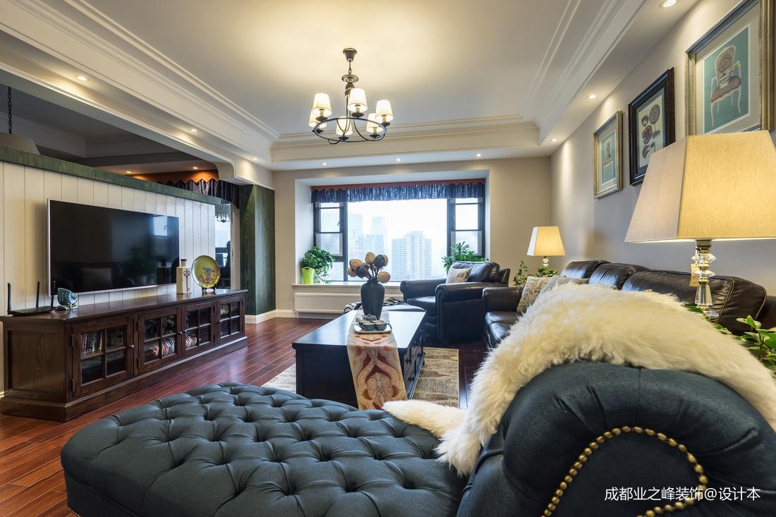 典雅147平混搭四居客厅装饰美图客厅3图