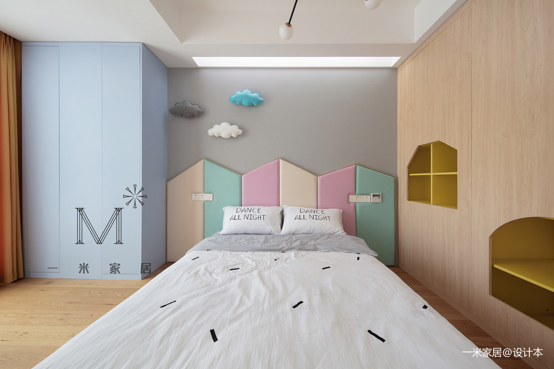 明亮110平北欧四居客厅装修图客厅北欧极简客厅设计图片赏析