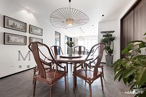 【一米家居一席自在】二居中式现代家装装修案例效果图