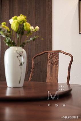 明亮51平中式二居客厅装饰图家装装修案例效果图
