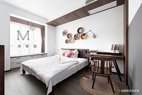 典雅87平中式二居效果图二居中式现代家装装修案例效果图