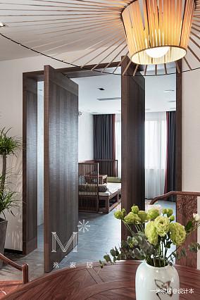 温馨85平中式二居装修美图