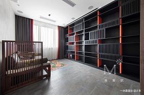 明亮78平中式二居装潢图