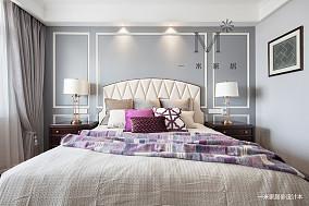轻奢94平美式三居客厅实景图三居美式经典家装装修案例效果图