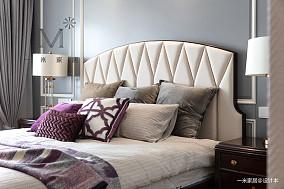 明亮99平美式三居客厅实景图三居美式经典家装装修案例效果图