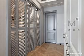 精致79平美式三居客厅图片大全三居美式经典家装装修案例效果图