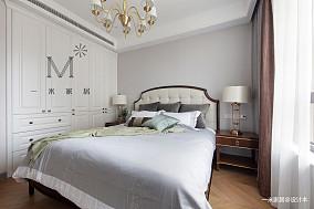 平美式三居客厅装修效果图三居美式经典家装装修案例效果图