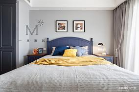 浪漫71平美式三居装饰美图三居美式经典家装装修案例效果图