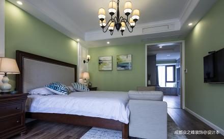 九号公馆美式三居卧室图卧室