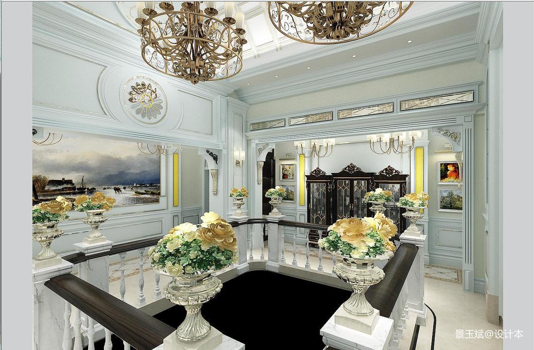 客厅吊灯大全客厅美式经典客厅设计图片赏析