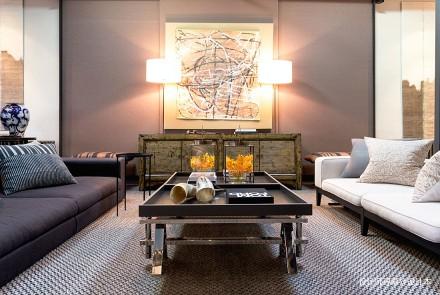 精美39平LOFT小户型客厅实景图一居潮流混搭家装装修案例效果图