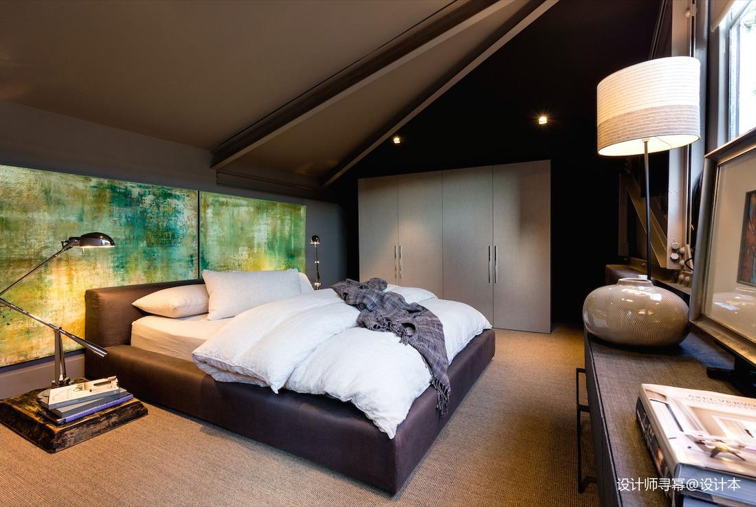 华丽30平LOFT小户型卧室实景图卧室2图潮流混搭卧室设计图片赏析