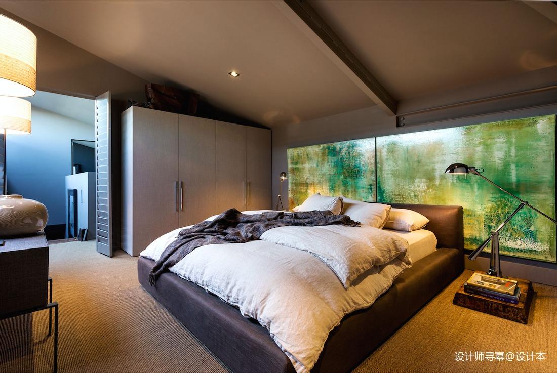 精美20平LOFT小户型卧室装修效果图卧室3图潮流混搭卧室设计图片赏析