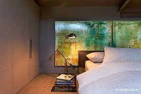 典雅33平LOFT小户型卧室装修装饰图卧室1图潮流混搭卧室设计图片赏析