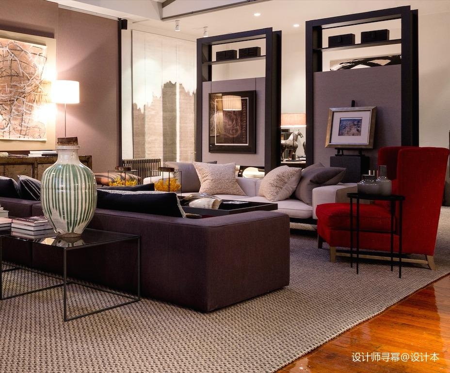 轻奢34平LOFT小户型客厅实拍图客厅1图潮流混搭客厅设计图片赏析