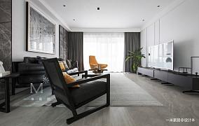 简洁56平现代二居装修效果图二居现代简约家装装修案例效果图