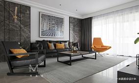 悠雅73平现代二居客厅装修图片二居现代简约家装装修案例效果图