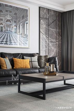 隐市现代二居客厅装修设计图二居现代简约家装装修案例效果图