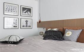 浪漫89平现代二居装饰美图二居现代简约家装装修案例效果图