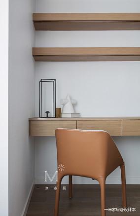 质朴89平现代二居设计案例家装装修案例效果图