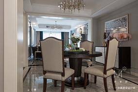 大气114平美式三居客厅实拍图家装装修案例效果图
