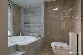 平美式三居客厅装修装饰图三居美式经典家装装修案例效果图