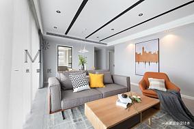 典雅76平现代二居客厅装修美图二居现代简约家装装修案例效果图