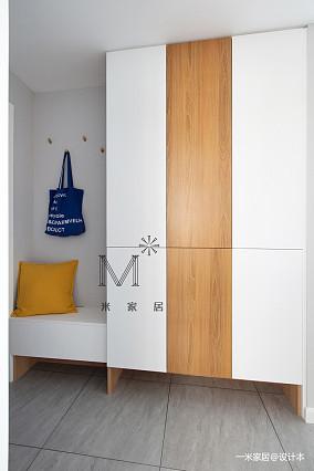 简洁83平现代二居装潢图二居现代简约家装装修案例效果图