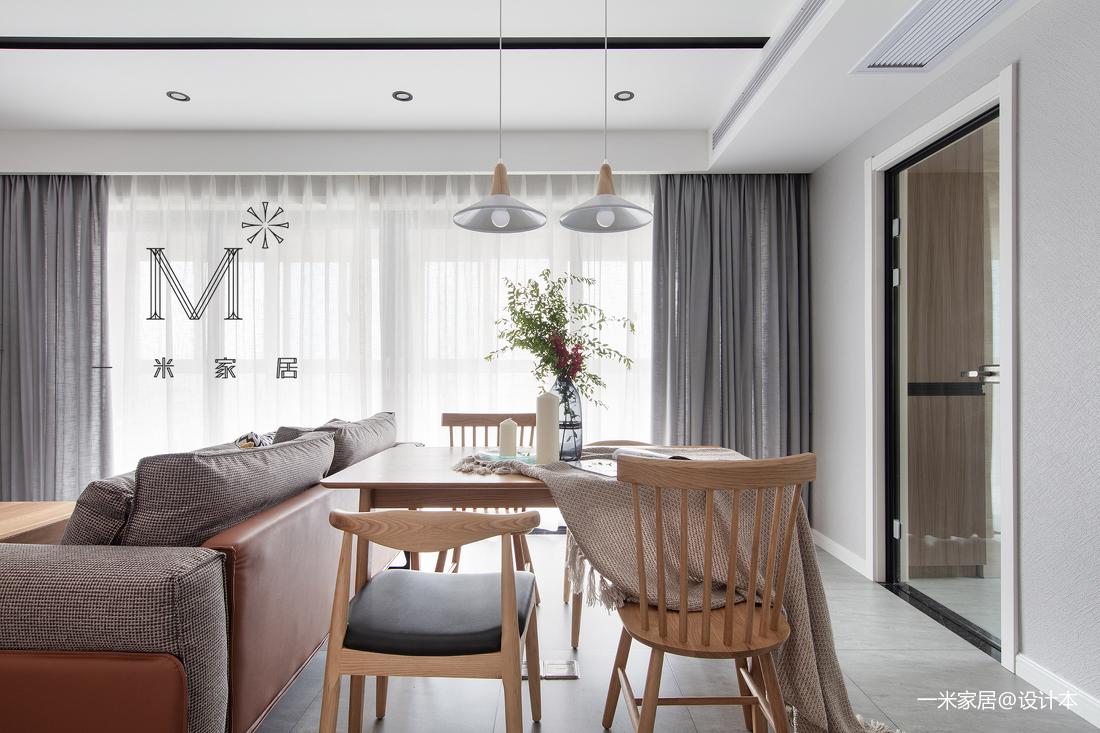 悠雅113平现代二居客厅装潢图二居现代简约家装装修案例效果图