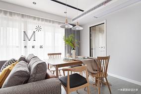 典雅77平现代二居装潢图二居现代简约家装装修案例效果图