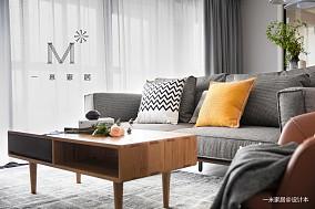 华丽71平现代二居客厅装饰图片二居现代简约家装装修案例效果图