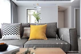 优美84平现代二居实景图片二居现代简约家装装修案例效果图