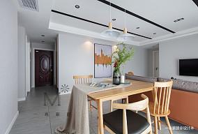 平现代二居客厅图片欣赏二居现代简约家装装修案例效果图