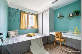 平现代二居案例图二居现代简约家装装修案例效果图