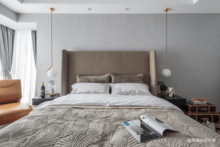 温馨75平现代三居卧室装修设计图