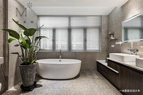 优雅74平北欧复式客厅设计效果图复式北欧极简家装装修案例效果图