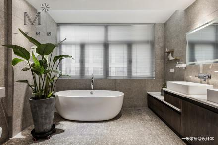 优雅74平北欧复式客厅设计效果图