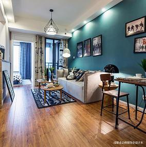 质朴31平现代小户型客厅效果图片大全