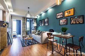 质朴35平现代小户型客厅效果图片大全