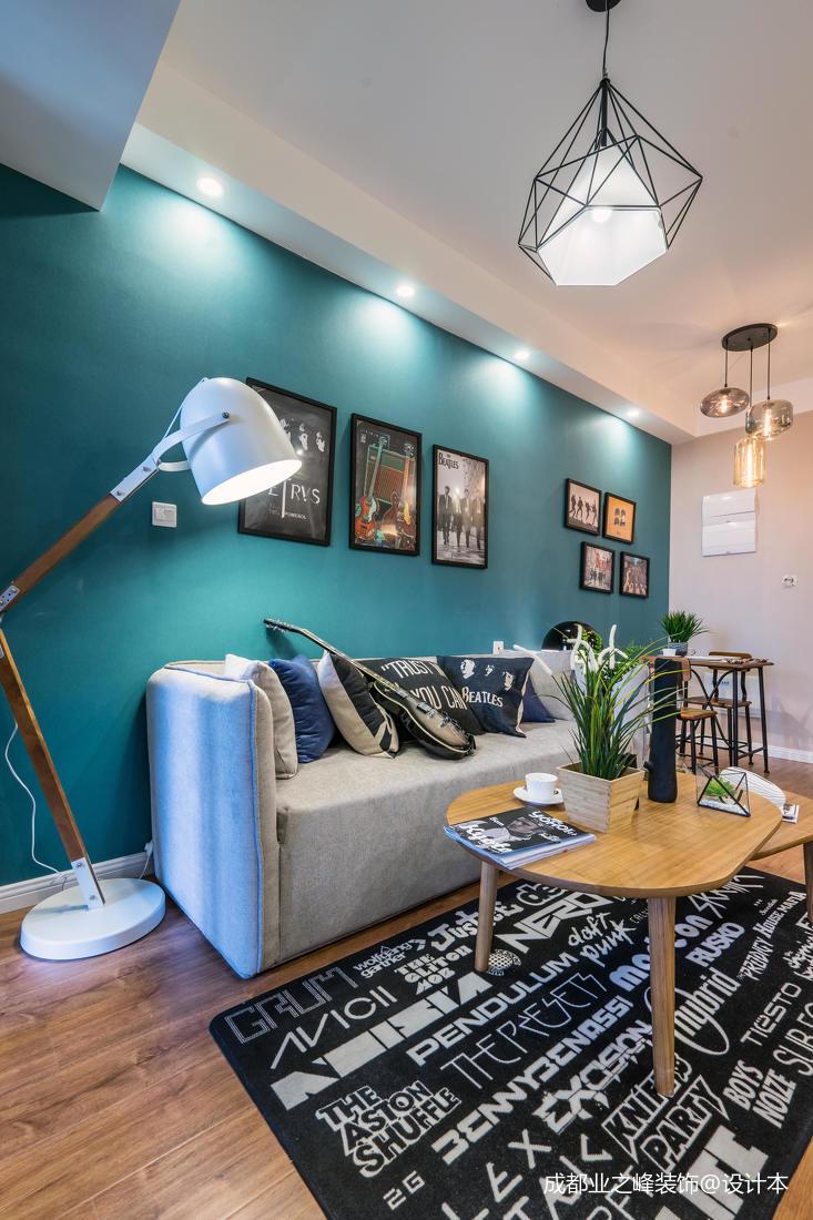 典雅21平现代小户型客厅设计图客厅
