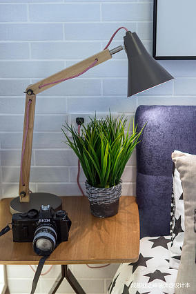 质朴39平现代小户型卧室实景图