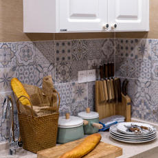 质朴24平现代小户型厨房装修图片