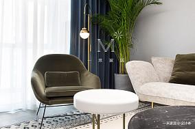 典雅88平现代二居客厅实拍图二居现代简约家装装修案例效果图