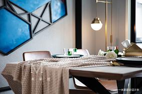 典雅68平现代二居装修美图二居现代简约家装装修案例效果图
